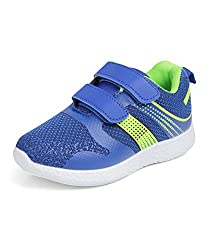 Kittens Boys Blue Mesh Sneakers (KTB161) - 11 UK