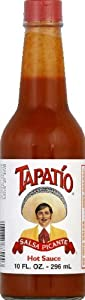 Tapatio Salsa Picante Hot Sauce 100-ounce Pack Of 12 by Rondo Foods