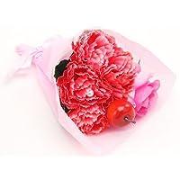 母の日の花束に★【造花】カーネーション ブーケ 赤