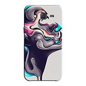 PAINTED FACE BACK COVER FOR SAMSUNG J7