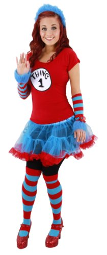 elope Thing 1/2 Adult Tutu Costume