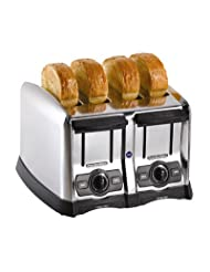 Hamilton Beach 24850 Proctor-Silex Pop-Up Toaster, 4 slot, Smart Bagel function by Proctor+Silex