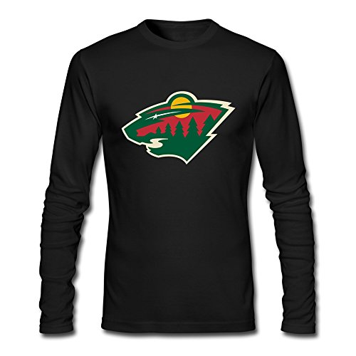Minnesota Wild Customized Retro Long-sleeve Tee Shirt