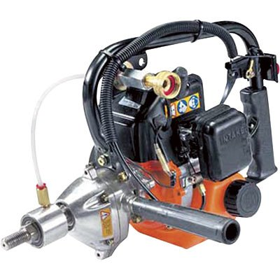 Tanaka Commercial Grade Gas Powered High Speed Gas Drill 26cc 1.3 HP 2-Stroke (CARB Compliant) TED-262HS