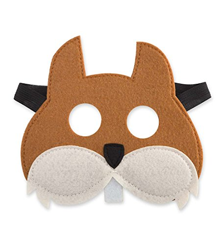 Woodland Mask, in Squirrel