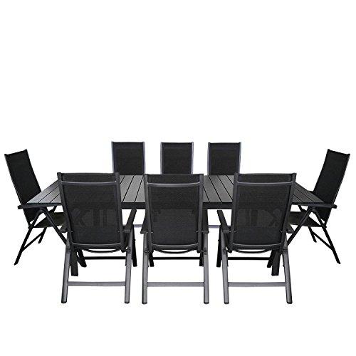 gartentisch alu ausziehbar preisvergleiche. Black Bedroom Furniture Sets. Home Design Ideas
