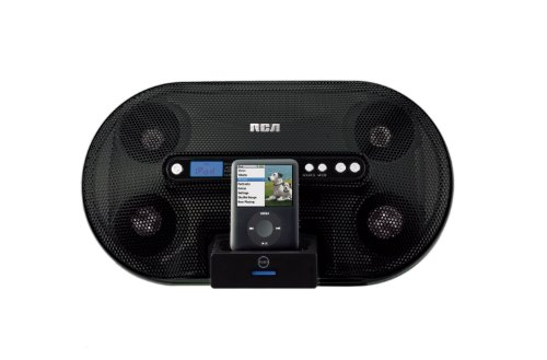 RCA RI500 Sound System with Universal Dock for iPod