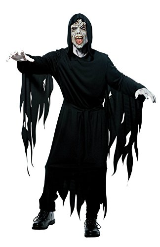 Papermagic Mens Scary Death Grim Reaper Monster Halloween Party Fancy Costume