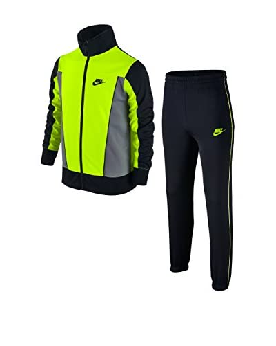 Nike Chándal B Nsw Trk Suit Pac Poly Lima / Gris / Negro