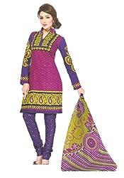 Sanjeeban Fashion Studio Women's Cotton Dress Material (FE_61_Multi-Coloured_Free Size)