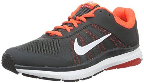 Nike Dart 12, Scarpe da Corsa Uomo, Multicolore (Anthrct/White/Ttl Crmsn/Unvrst), 41 EU