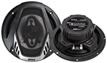 "BOSS AUDIO NX654  Onyx 6.5"" 4-way 400-watt  Full Range Speakers"