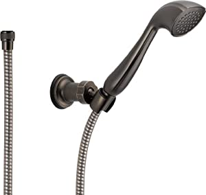 Delta 57923-PT Addison Wall-Mount Handshower, Aged Pewter