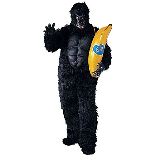 Adult Gorilla with Muscle Chest Costume - Standard