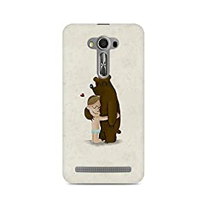 TAZindia Printed Hard Back Case Cover For Asus Zenfone Laser 2 ZE500