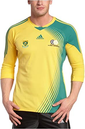 ADIDAS SOUTH AFRICA SOCCER JERSEY MENS LARGE L FOOTBALL ...  South Africa Soccer Jersey