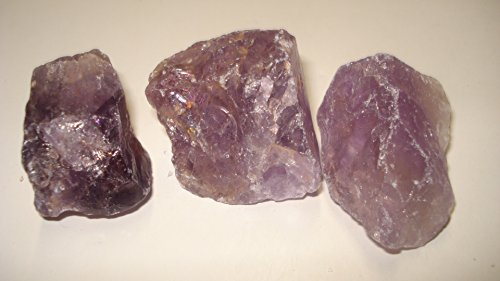 (#14) 3Pc Bolivia Amethyst & Ametrine Premium Quality Medium Choice Piece Raw Rough 100% Natural Crystal Gemstone Specimen