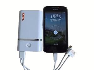 DPL Mobile Battery Pack 7800mAh Backup Portable External Battery Pack High Capacity Power Bank Charger Apple: iPad mini, iPhone 5 / iPhone 4S 4, iPod, iPad, iPad 2 / HTC One X, One S, Sensation G14, EVO, Desire HD S Z / Samsung Galaxy S4 S3 I9300, Galaxy Ace, Galaxy Nexus, Galaxy Note / Motorola Atrix, Droid Razr, Defy, Defy + / Nokia N9 N8 N900 N800 Lumia 800 900 / BlackBerry Bold 8520 9900 9300 9360, Z10 / Google Nexus 7, Nexus 10 / Sony Ericsson Xperia X10 X8 Arc / GoPro-White