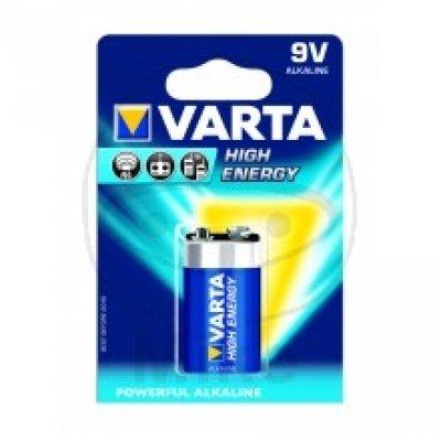 Varta-high energy-piles (gerätebatterie), 9 v, e-block 9 v/6LR61 (block pièces/1