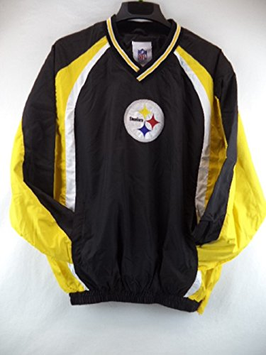 separation shoes ed810 38dce Pittsburgh Steelers Light Weight Pullover Track Jacket ...