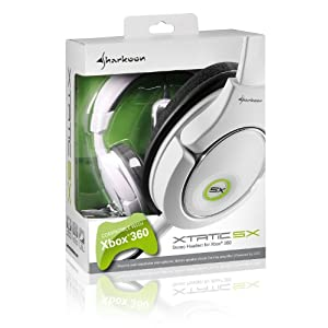 Xbox 360 Sharkoon X-Tatic SX Stereo Gaming Headset