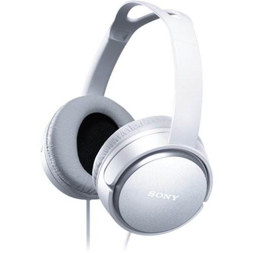 Sony Premium Lightweight Home Theater Headphones (White)