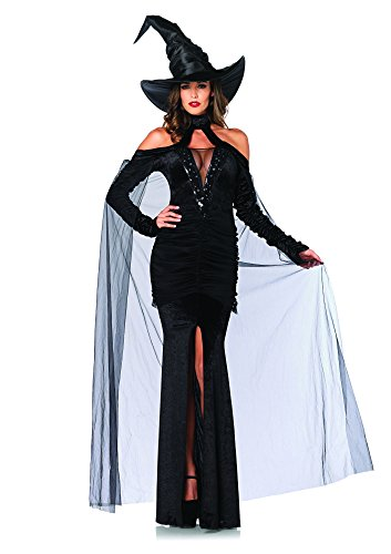 Women's 2 Piece Sultry Sorceress Costume