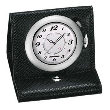 Mont Blanc Boheme Leather Collection - Travel Alarm Clock