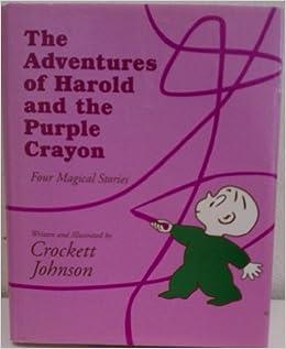 harold and the purple crayon by crockett johnson pdf