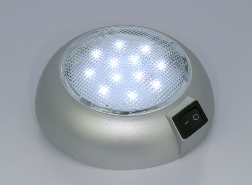 battery powered led dome light magnetic or fixed mount high power white new ebay. Black Bedroom Furniture Sets. Home Design Ideas