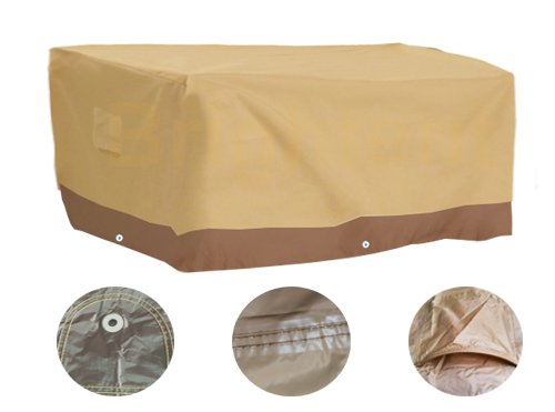 Brightent Deluxe Heavy Duty Waterproof Protection Outdoor Indoor Patio Furniture Table Cover (67