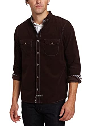 English Laundry Men's Gloucester Shirt, Brown, Small