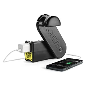 K-Tor 120 Volt 10 Watt Hand Crank Generator, Pocket Socket 2, Charges All Portable Electronics, All Cell Phones Including All Makes of Apple Products, Sturdy Build, Made in the USA