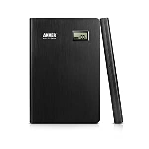Anker® 2nd Gen Astro Pro2 20000mAh 4-Port Aluminum Portable Charger  External Battery Power Bank with 9V/12V Multi-Voltage Port and PowerIQTM Technology for iPad Air mini, iPhone 6 5s 5c 5; Galaxy S5 S4, Tab 2, Note, Nexus, MOTO X, G, LG Optimus, HTC One, PS Vita and More