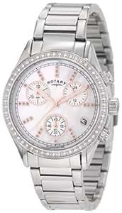 Rotary Women's LB700025/07 Rotary Exclusive Ladies Sport Chronograph Bracelet Watch