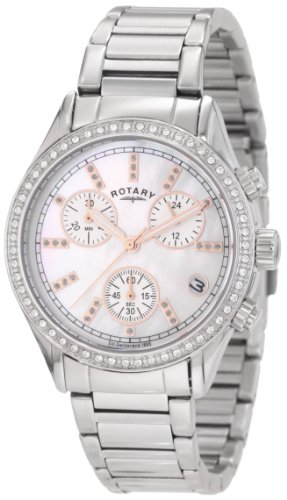 Rotary Women's LB700025/07 Rotary Exclusive Ladies Sport Chronograph Bracelet Watch