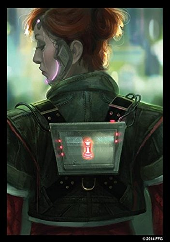Android Netrunner: Deep Red Art Sleeves