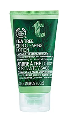 The Body Shop Tea Tree Skin Clearing Lotion, 1.69 Fluid Ounces