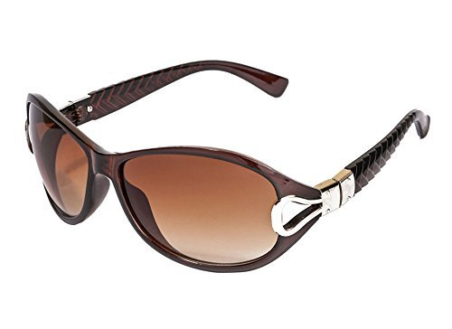 Deals on Vespl Uv Protected Oval Women's Sunglasses