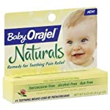 Baby Orajel Naturals Remedy for Teething Pain Relief 0.33 Oz (9.4 G) (2 Pack)