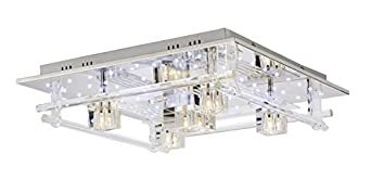 Paul neuhaus 50365 17 plafonnier 5 x g4 20 w chrome for Paul neuhaus luminaire
