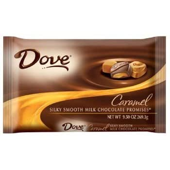 dove silky smooth caramel promises 9.5 oz (pack of 12)