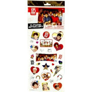 One Direction 25 Piece Stickers