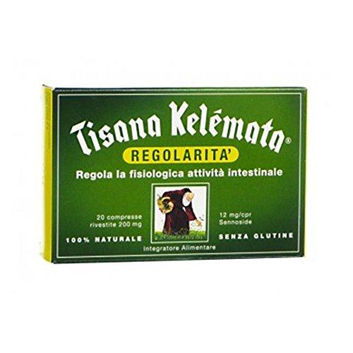 Kelemata Tisana Regolarita' Senza Glutine 20 Compresse