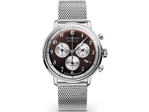 Zeppelin Men's Series LZ129 Hindenburg Bronze Dial Watch - 7086M-5