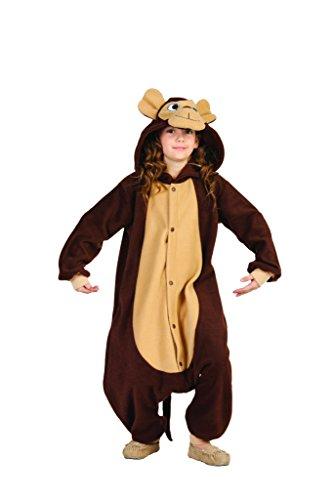 [Monkey Funsies- Child Costume, Brown/Tan, Medium(8-10)] (Child Monkey Costumes)