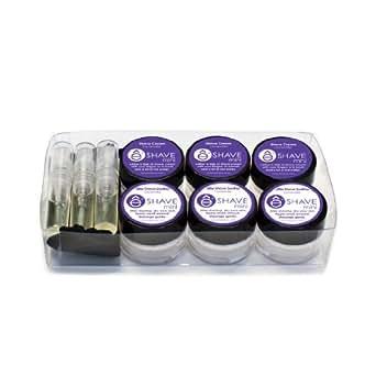 eShave Mini Shaving Travel Kit, Lavender
