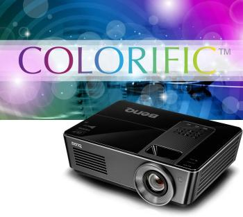 BenQ SH915 Projector with Colorific Technology