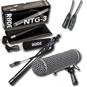 Location Sound Package 4: Rode Ntg-3 - 89Cc