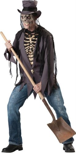 Costumes For All Occasions Ic11030Xl Grave Robber 2B Adlt Xl